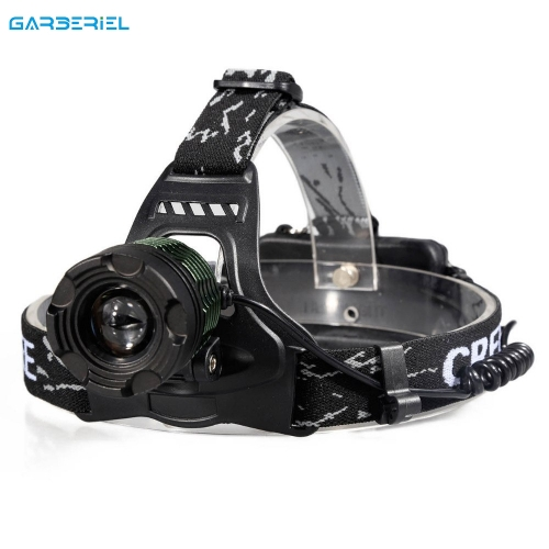 Super Bright Zoomable Headlamp T6 Head Torch
