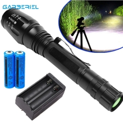20000LM Tactical Waterproof Torch 18650 Rechargeable T6 Led Flashlight Outdoor