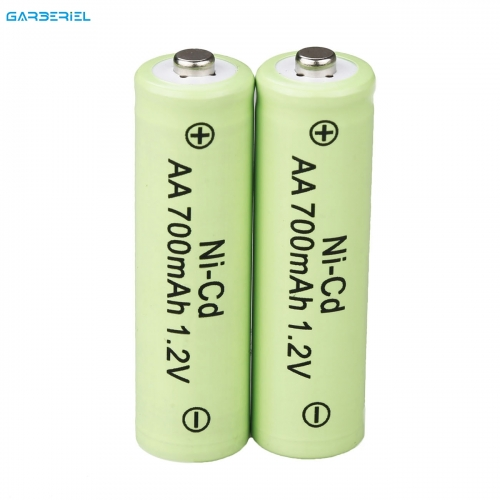 2pcs 1.2V AA Rechargeable Ni-Cd Battery