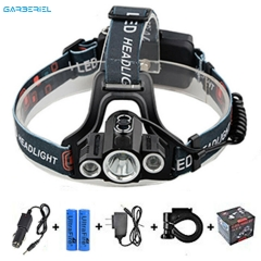 3000LM 3 X T6 Rechargeable LED Headlamp Headlight Flashlight Head Torch Light