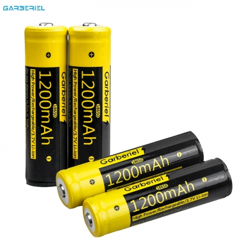 4 Pcs Rechargeable High Protective Li-ion Batteries + 2 Pack Dual Battery Charger
