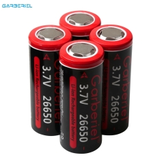 4 PCS 6800mah 3.7V Rechargeable 26650 Battery