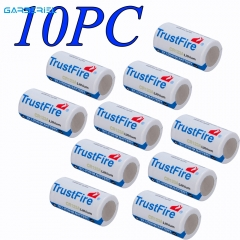 10pcs  TrustFire 3V CR123A Disposable Batteries (White)